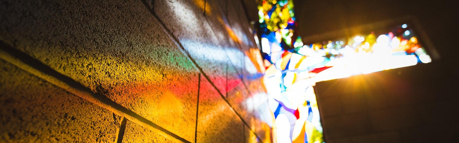 cross-stained-glass-prayer-garden-Fuller-Theological-Seminary