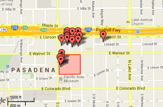 Interactive Map of Fuller Housing