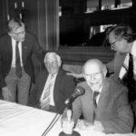 Arthur Glasser, Alan Tippett, Donald McGavran, Newton Malony
