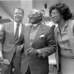 Hubbard with Desmond Tutu