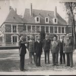 Founding faculty at the Cravens Estate