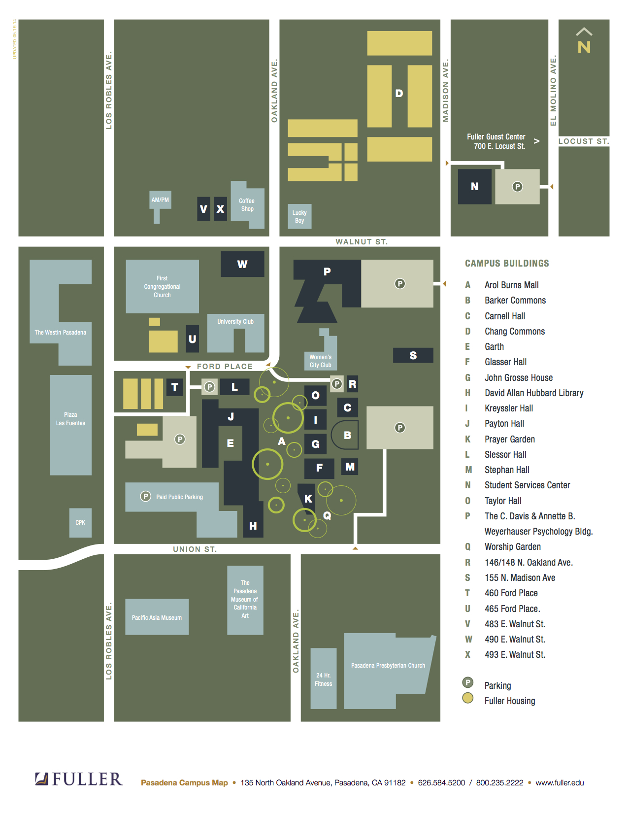FTS-Campus-Map