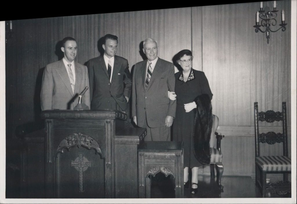 Fullers and Billy Graham(1)
