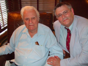 Grant Wacker with Billy Graham