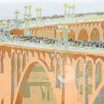 pasadena bridge illustration