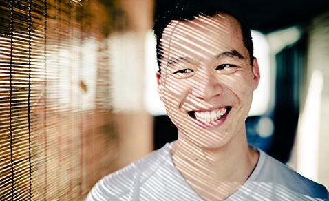 Daniel Chou smiling