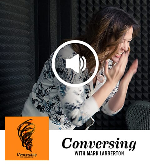 Tara Beth Leach Conversing