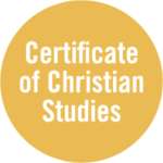 Certificate of Christian Studies