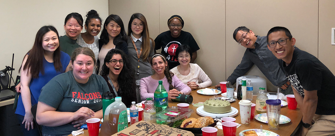 Wang lab group