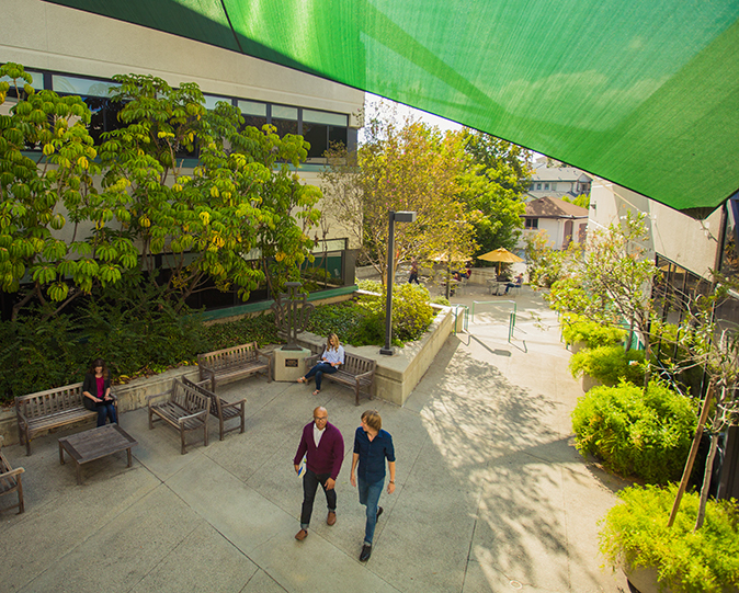 Campus Breezeway