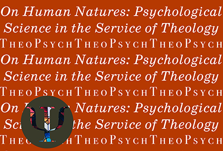 TheoPsych words on red background