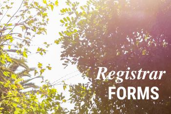 Registrar Forms
