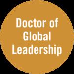 Doctor of Global Leadership badge
