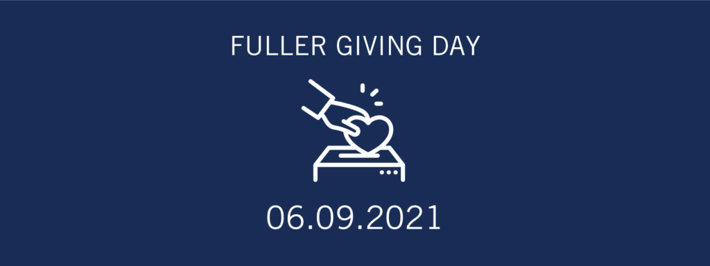 Fuller Giving Day graphic 2021